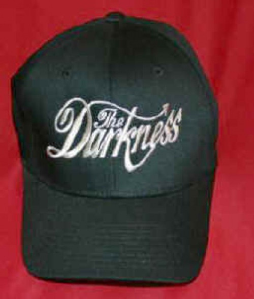 The Darkness Hat Letters Logo Black Size Large XL