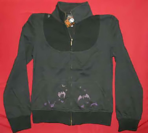 Nightmare Before Christmas Track Jacket Black Size Women Junior XL
