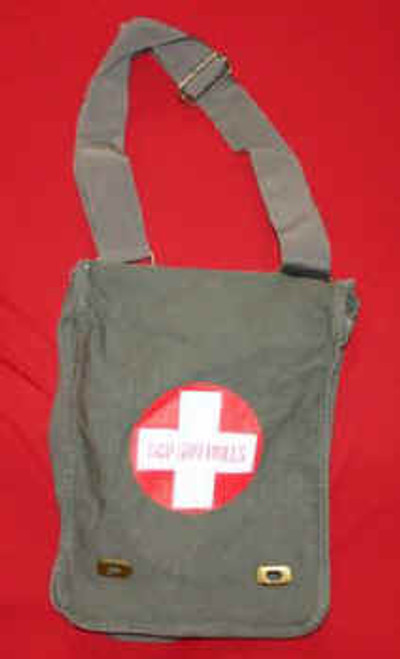 Goo Goo Dolls Field Bag Red Cross Logo Tan