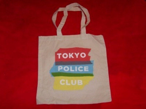 Tokyo Police Club Tote Bag Letters Logo
