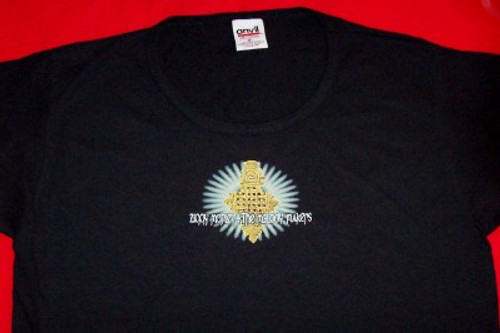 Ziggy Marley and the Melody Makers Ladies T-Shirt Black Size Medium