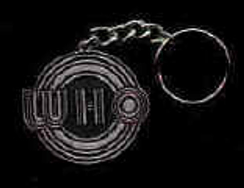 The Who Metal Keychain Bulls Eye Logo