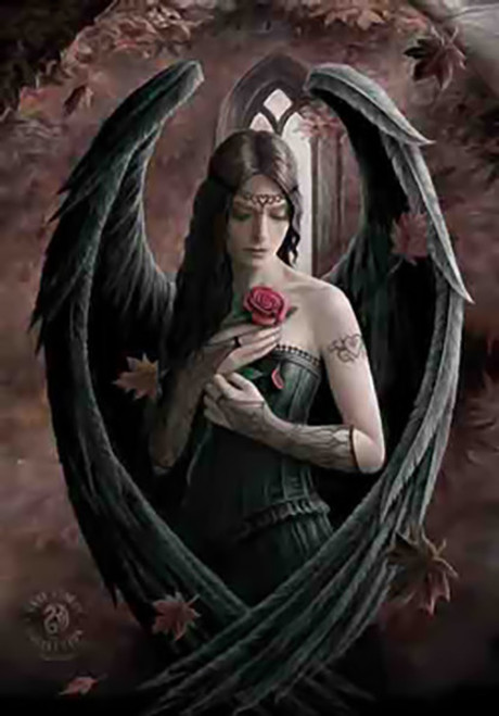 Anne Stokes Poster Flag Angel Rose
