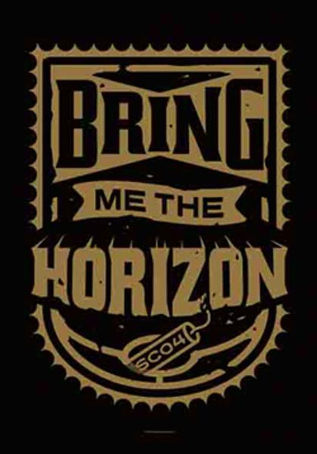 Bring Me The Horizon Poster Flag Dynamite Shield