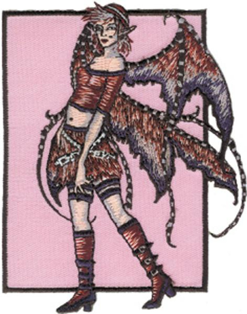 Amy Brown Iron-On Patch Disarray Fairy