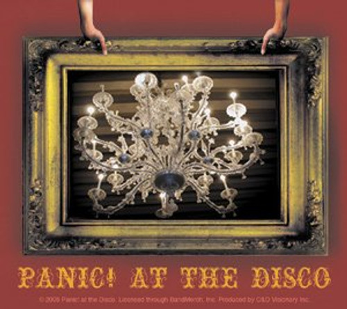 Panic At The Disco Vinyl Sticker Frame Logo