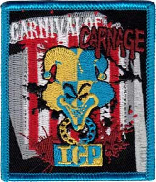 Insane Clown Posse Iron-On Patch ICP Carnival Of Carnage Logo