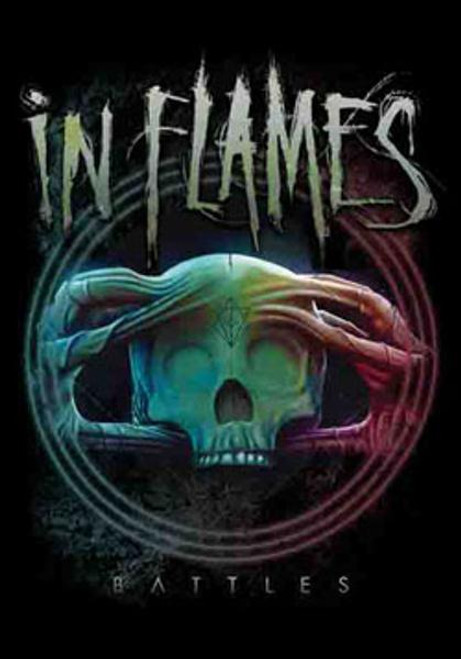 In Flames Poster Flag Battles Logo