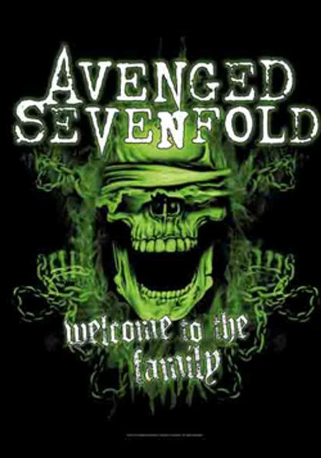 Avenged Sevenfold Poster Flag Welcome To The Family