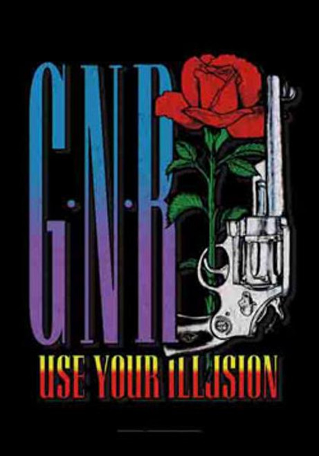 Guns n' Roses Poster Flag GNR Use Your Illusion