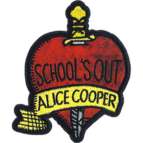 Alice Cooper Iron-On Patch School's Out