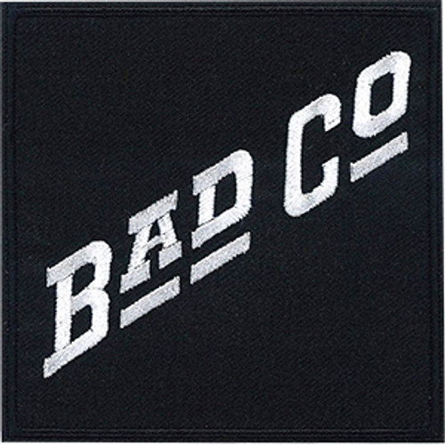 Bad Company Iron-On Patch White Letters Logo