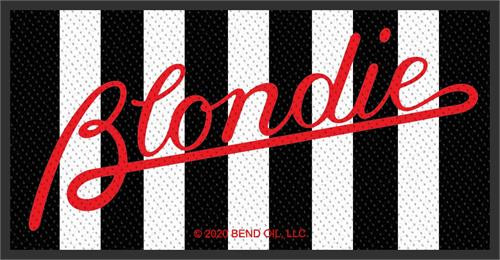 Blondie Sew On Patch Parallel Lines Logo