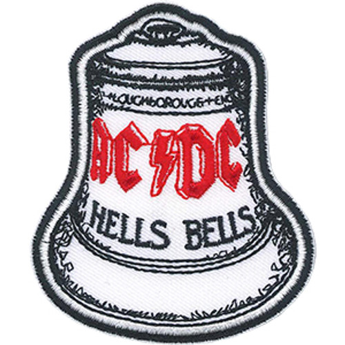 AC/DC Iron-On Patch Hells Bells Logo