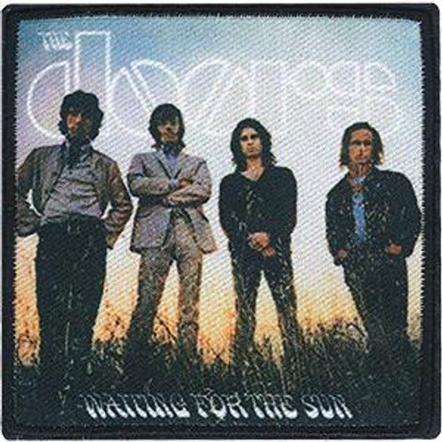 The Doors Iron-On Patch Square Waiting for the Sun