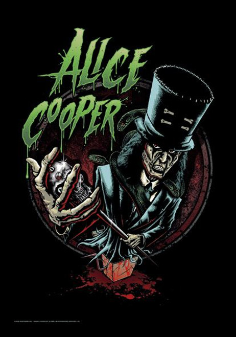 Alice Cooper Poster Flag Jack In The Box