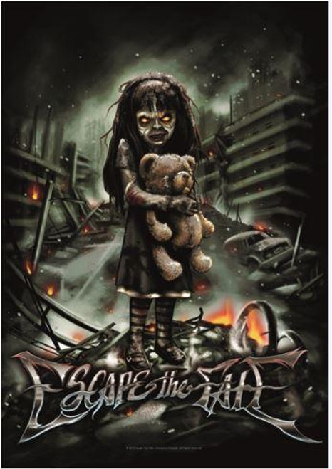 Escape The Fate Poster Flag Nightmare Tapestry