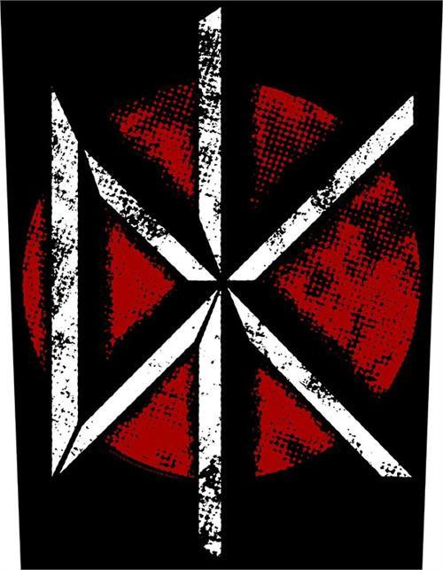 Dead Kennedys Sew On Canvas Back Patch Distressed DK Logo