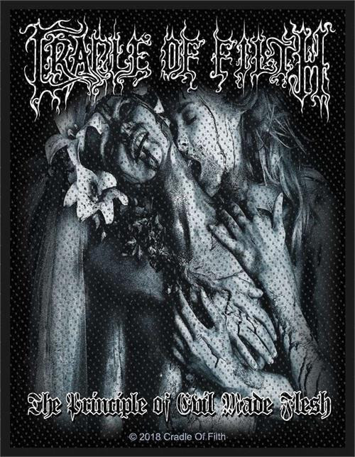 Cradle Of Filth Sew On Patch The Principle Of Evil Made Flesh
