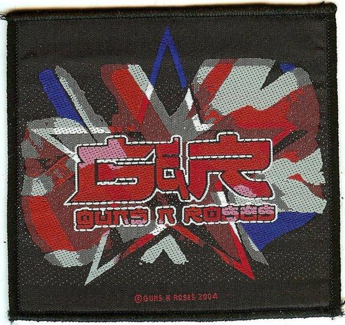 Guns n' Roses Sew On Patch Star Logo