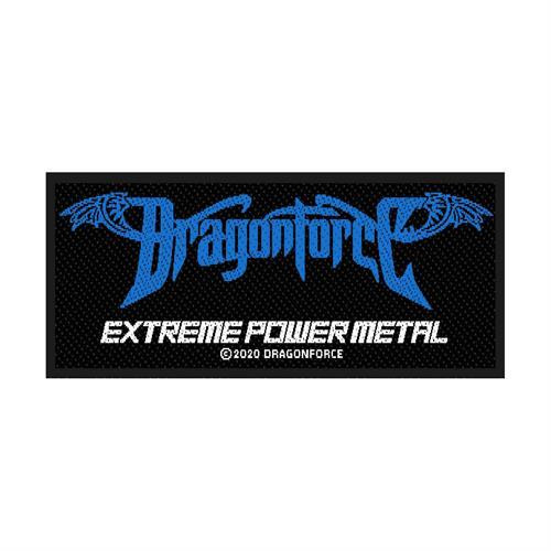 Dragonforce Sew On Patch Extreme Power Metal Logo