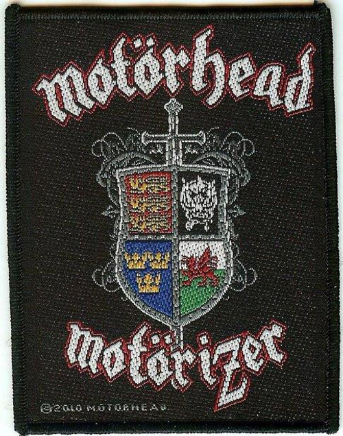 Motorhead Sew On Patch Motorizer Logo