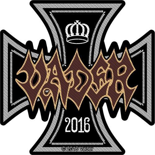 Vader Sew On Patch 2016 Iron Cross Logo