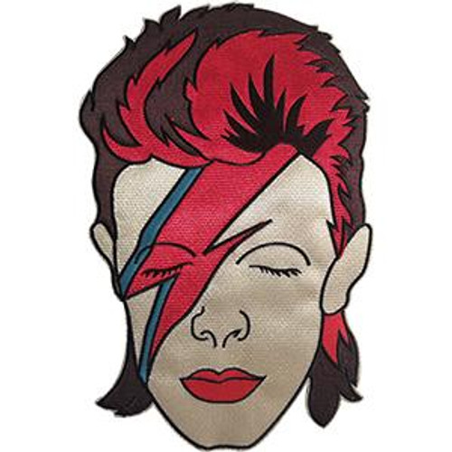 David Bowie Iron-On Back Patch Aladdin Sane