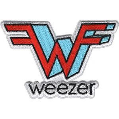 Weezer Iron-On Patch Wings Logo