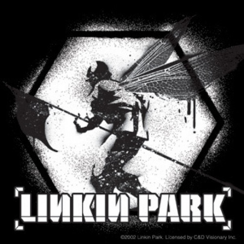 Linkin Park Vinyl Sticker B&W Soldier Logo