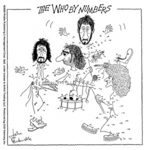 The Who Vinyl Sticker By Numbers Logo