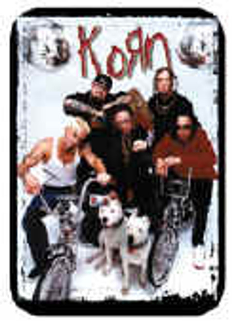 Korn Vinyl Sticker Band On Bikes Photo
