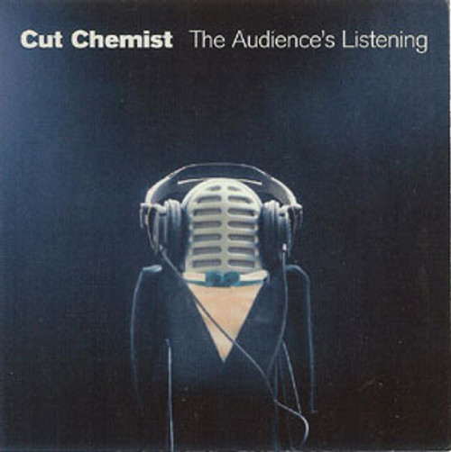 Cut Chemist Vinyl Sticker The Audience's Listening