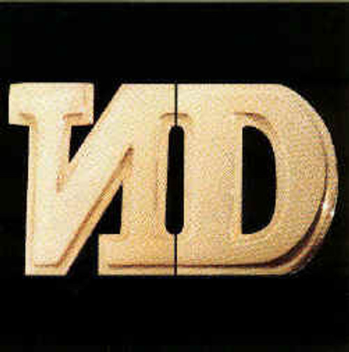 No Doubt Vinyl Sticker ND Gold Logo