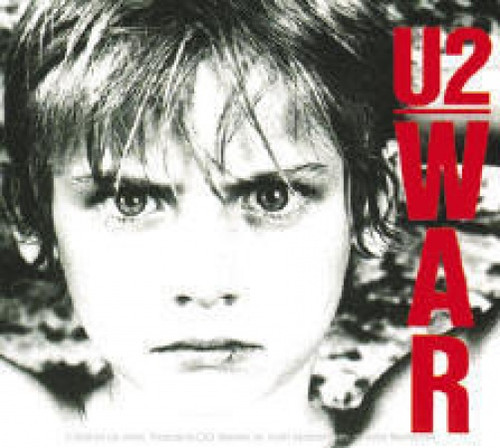 U2 Vinyl Sticker War Logo
