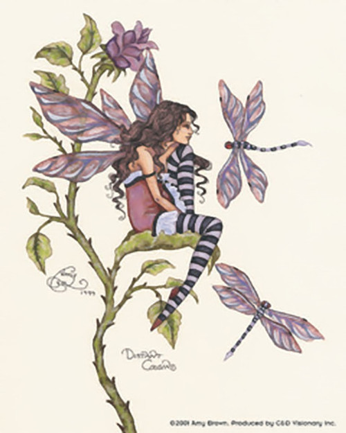 Amy Brown Vinyl Sticker Distant Cousins Fairy