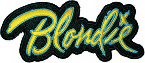 Blondie Iron-On Patch Letters Logo