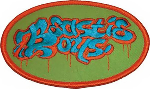 Beastie Boys Iron-On Patch Oval Logo