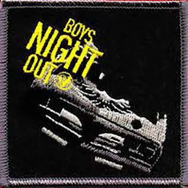Boys Night Out Iron-On Patch Square Logo