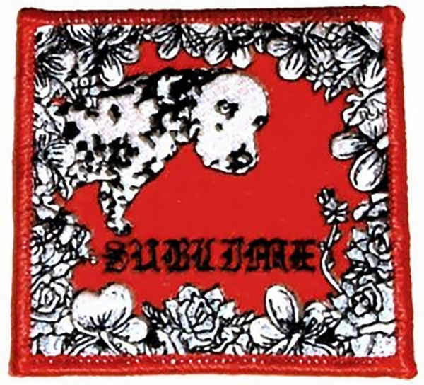 Sublime Iron-On Patch Lou Dog Logo