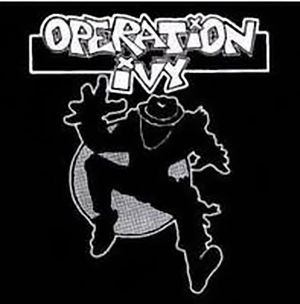 Operation Ivy Iron-On Patch Man Logo