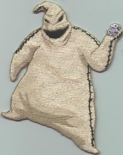 Nightmare Before Christmas Iron-On Patch Oogie Boogie