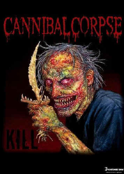 Cannibal Corpse Poster Flag Red Eyes Logo Tapestry
