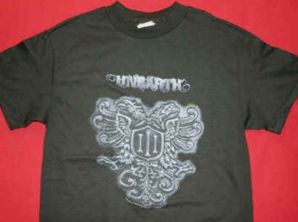 Unearth T-Shirt Shield Logo Black Size Small