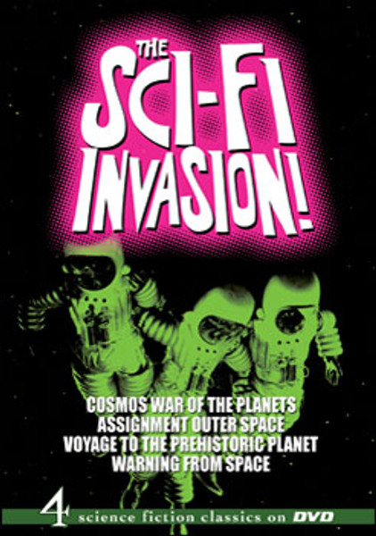The Sci-Fi Invasion! DVD - 4 Movies