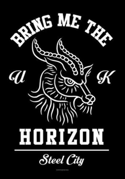 Bring Me The Horizon Poster Flag Steel City
