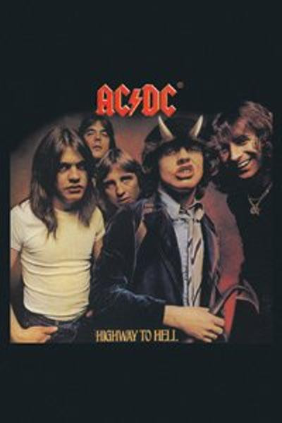 AC/DC Magnet Highway To Hell Logo