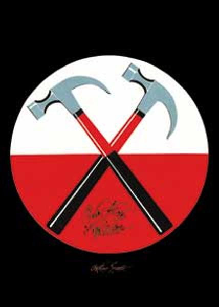 Pink Floyd Magnet Marching Hammers Logo