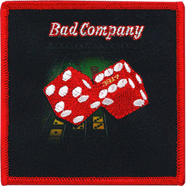Bad Company Iron-On Patch Straight Shooter Logo