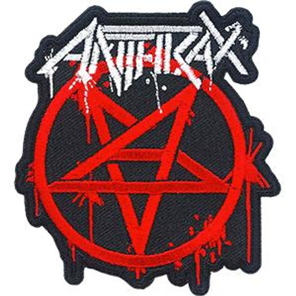 Anthrax Iron-On Patch Masters Logo
